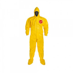 Tychem 2000 Coverall, Bound Seams, 6 Extra Large