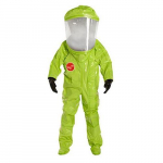 Tychem 10000 Encapsulated Level A Suit, Front Entry
