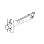 "5"" Square Deadbolt Latch, Polished Brass Finish"