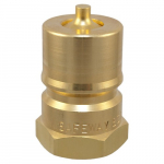 BS10 Brass Coupler Male Tip w/ Viton Seal
