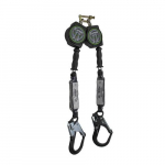 10' Cable Retractable Dual Leg