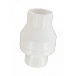 "1-1/2"" Swing Check Valve with Slip Clear Ends"