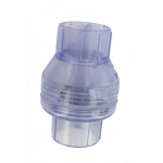 "1-1/2"" Clear Swing Check Valve with Slip Ends"